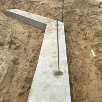 Concrete  Masonry Yanchep Golf Course Cantilever Wall Concrete Footing Reconstituted Limestone 2