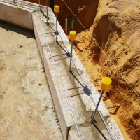 Concrete  Masonry Yanchep Golf Course Cantilever Wall Concrete Footing Reconstituted Limestone 3